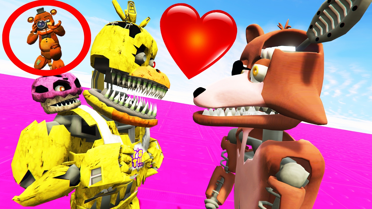Foxy And Chica 93874