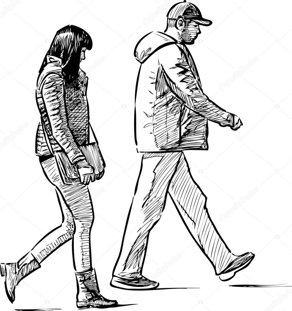 Hombre Caminando 142411